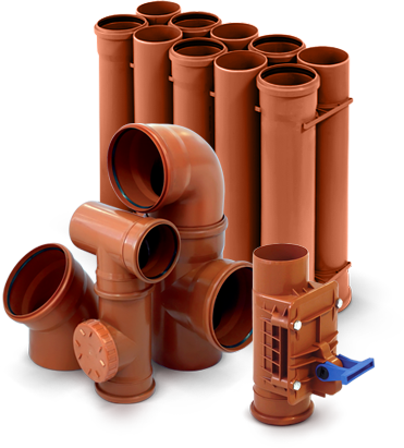 Трубы канализационные наружные