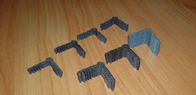Монтажные уголки для дистанционных реек