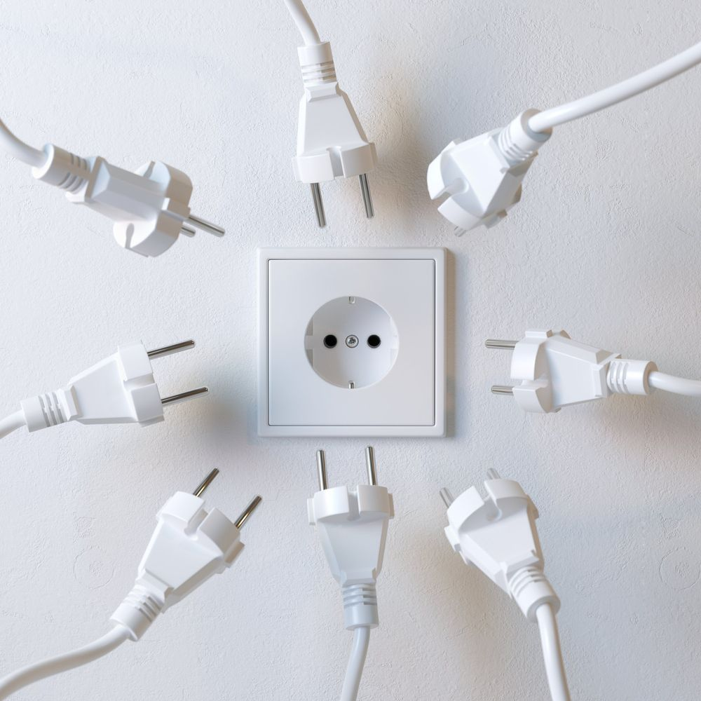 Установка электроприборов