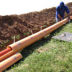 Утепление трубы наружной канализации