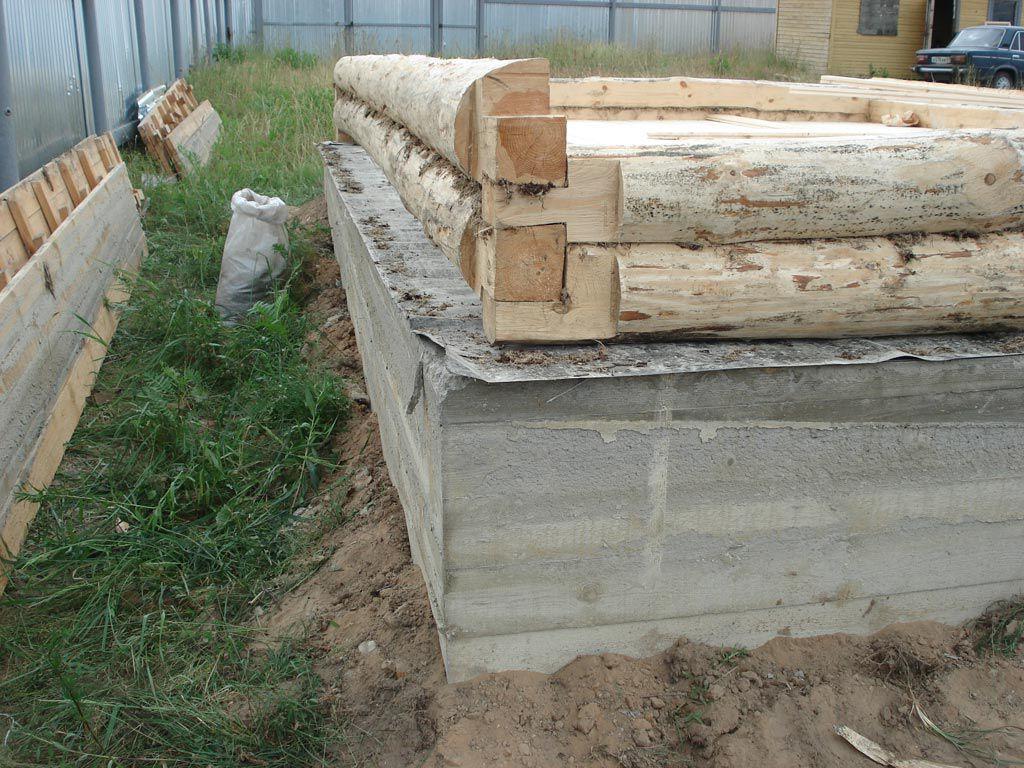 Размеры ленточного фундамента под баню