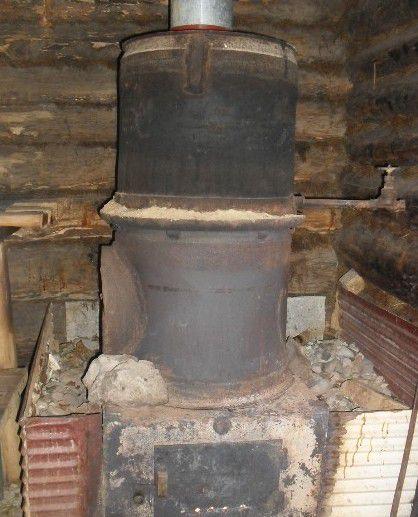 Печь из старых колесных ободов