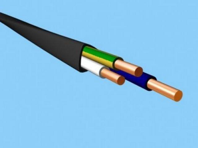 Цветовая маркировка проводов однофазного кабеля