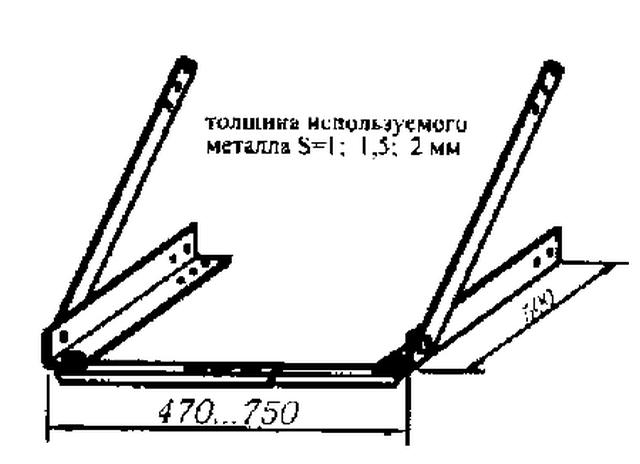 Самодельная или заводская монтажная рама