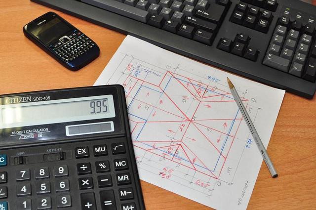 Самостоятельный расчет металлочерепицы - задача непростая