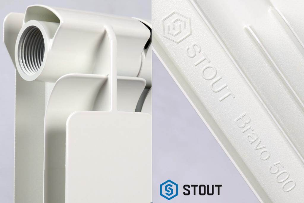 Алюминиевые радиаторы от STOUT Bravo