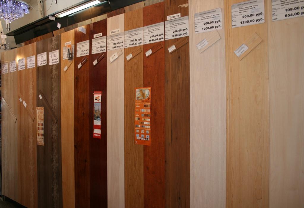Ассортимент пластиковых стеновых панелей