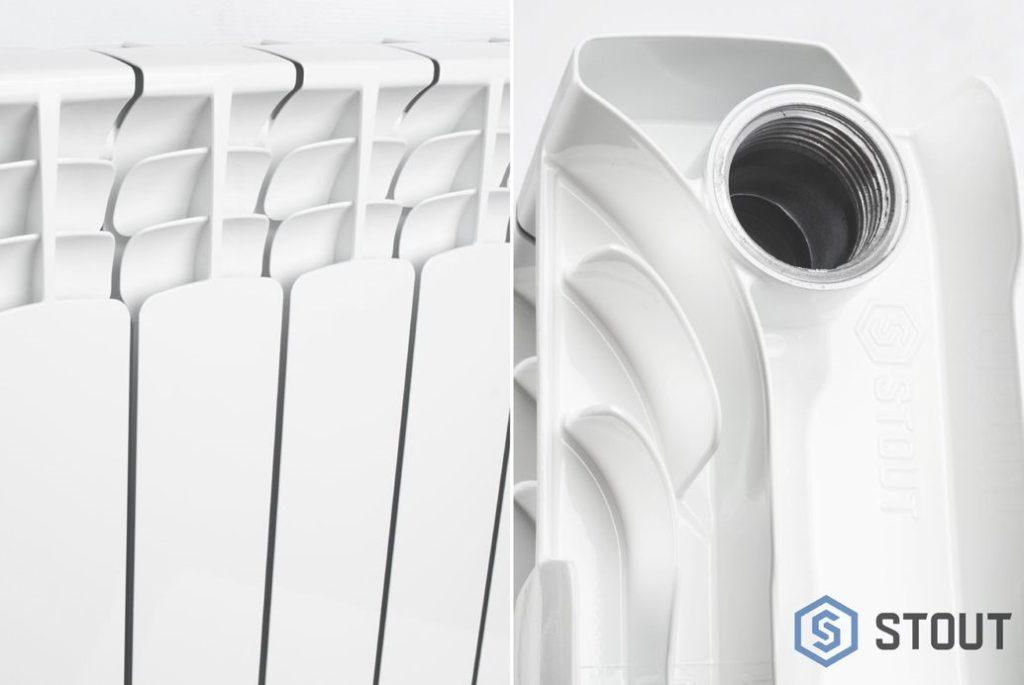 Биметаллические радиаторы STOUT Space