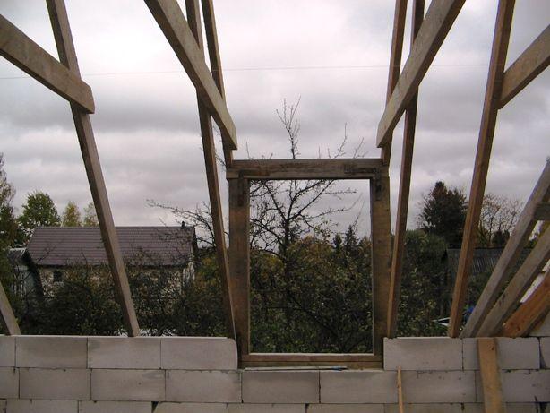 Делаем крышу