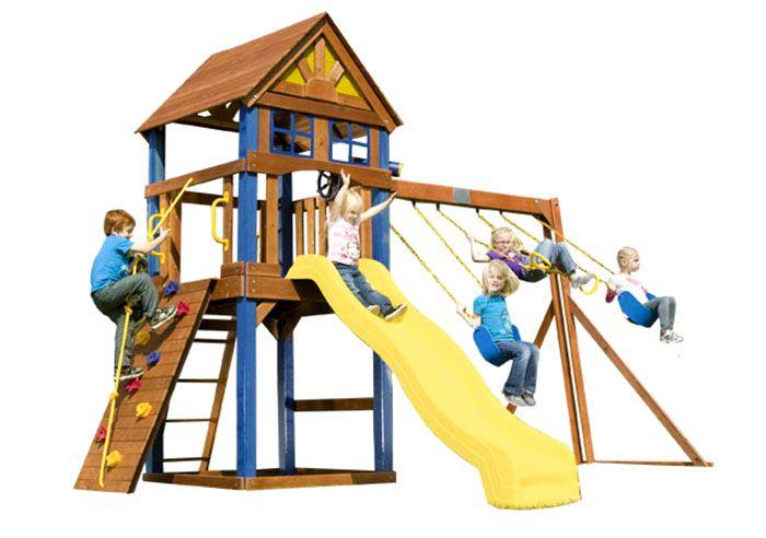 Детская площадка своими руками - инструкция пошагово!