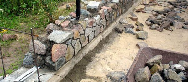 Каменная кладка своими руками