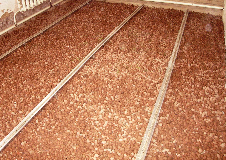 Пол из керамзитобетона частный дом бетон в тамбове купить