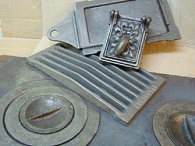 Чугунные и стальные фасонные детали для печки можно приобрести в специализированных магазинах