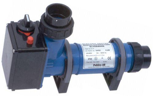 Проточный водонагреватель для пруда