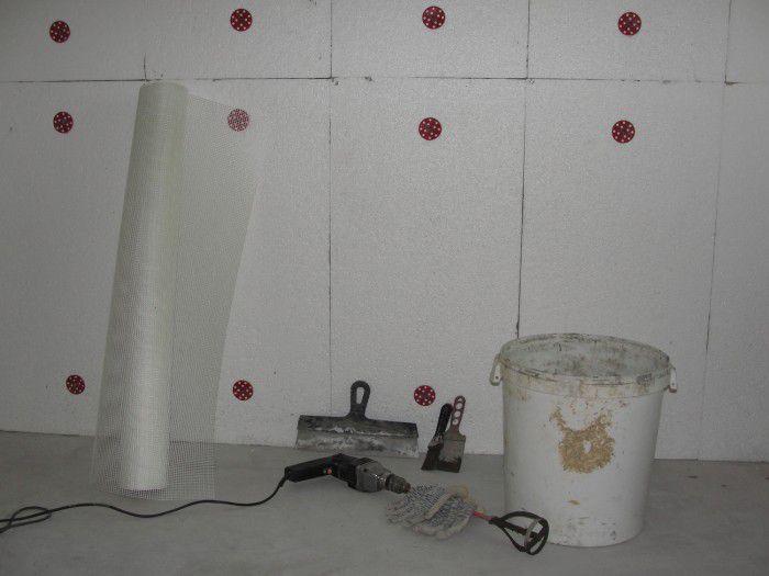 Технология внутреннего утепления стен
