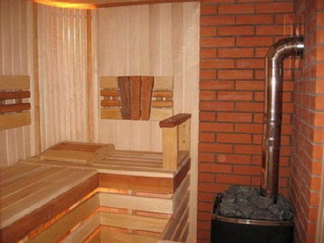 Печка с выводом трубы наружу через стену