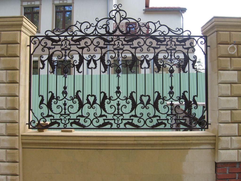 Кованый забор своими руками фото 659