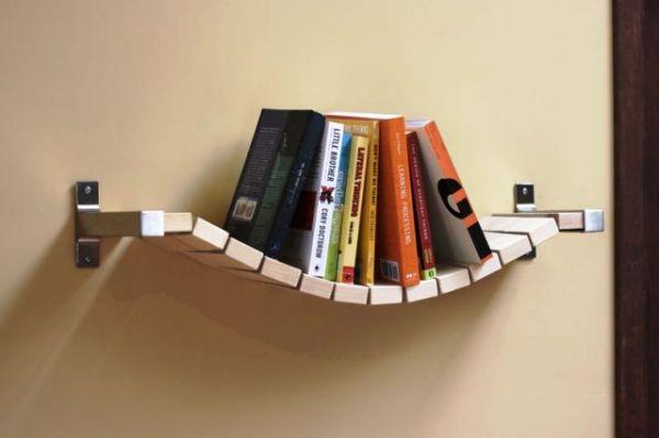 Как сделать деревянные полки для книг