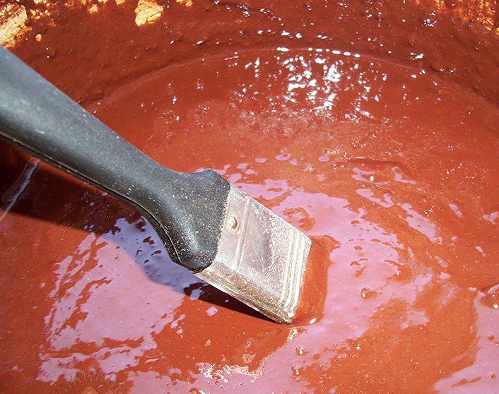 сурик железный для бетона
