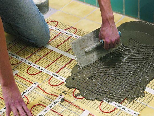 Особое преимущество - прямо на них можно укладывать керамическую плитку