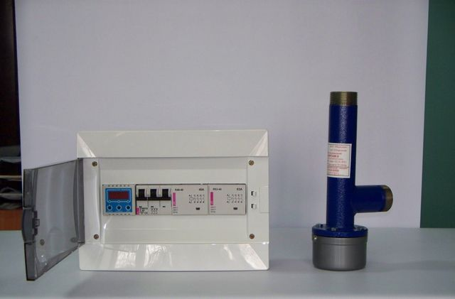 "Комплект - котел ""Форсаж"" с электронно-цифровым регулятором температуры"