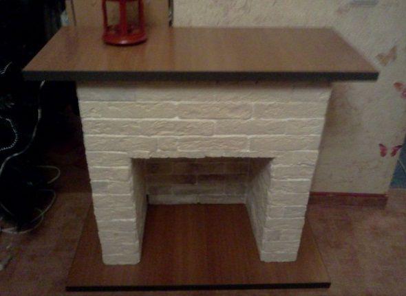 181 Декоративный камин своими руками пошаговая инструкция: фото