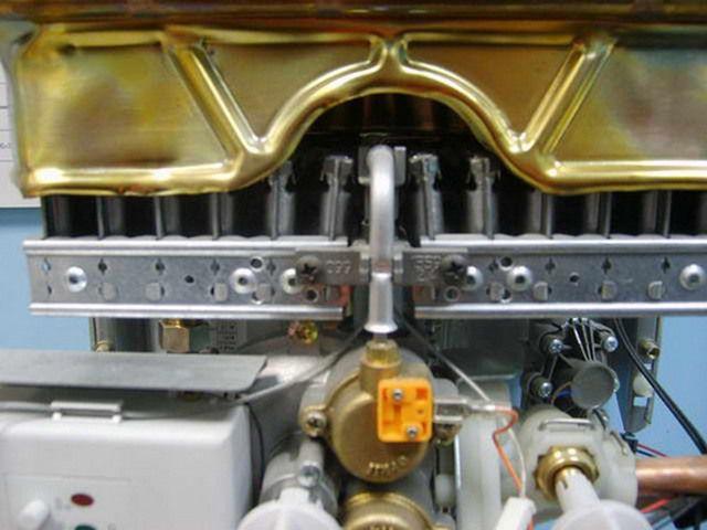 Современный электронный запальник газовой колонки