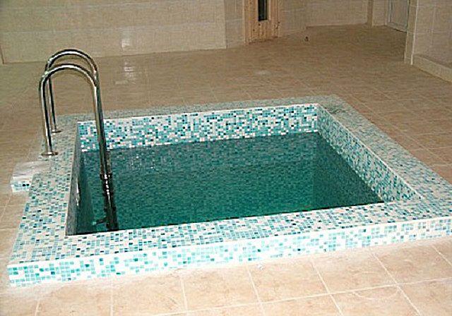 Бетонная купель , мини-бассейн