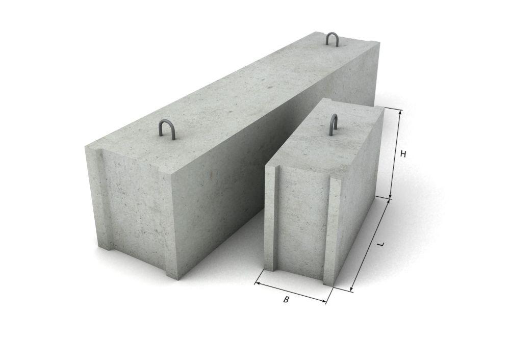Можно ли строить фундамент бани из ФБС разных размеров