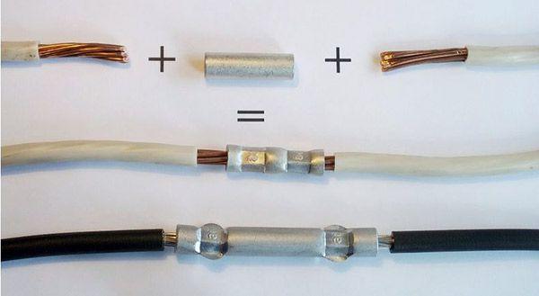Как правильно соединить провода