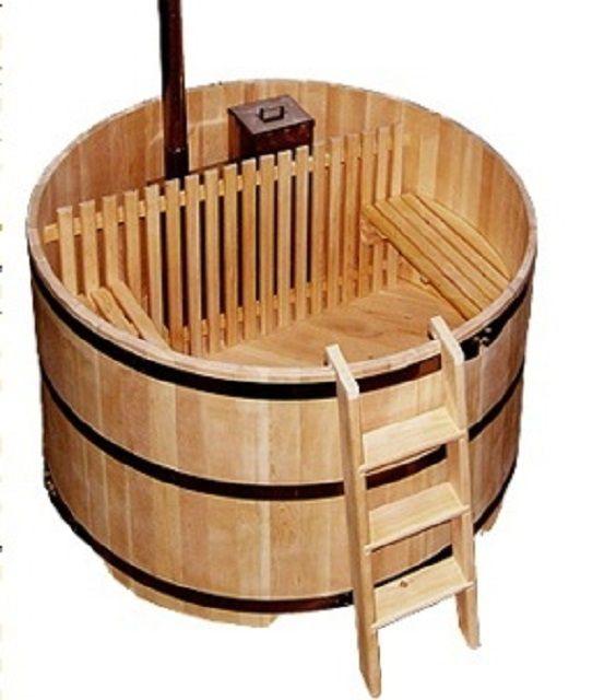 Купель в традициях японской бани-офуро
