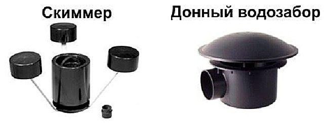 Донный и поверхностный водозаборники