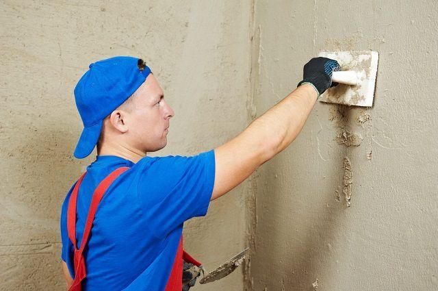 Штукатурить стены своими руками цементным раствором видео хранение бетонной смеси на строительной площадке