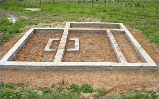 Ленточный фундамент - надежная основа для возведения стен здания