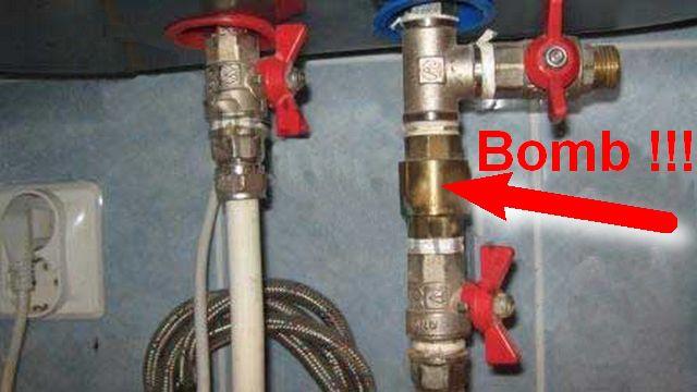 Не посчитайте преувеличением: подобная установка - это заложенная в своем доме бомба!