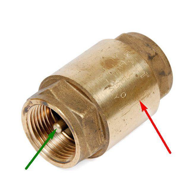Так устроен обычный обратный клапан. Но для бойлера его - недостаточно!