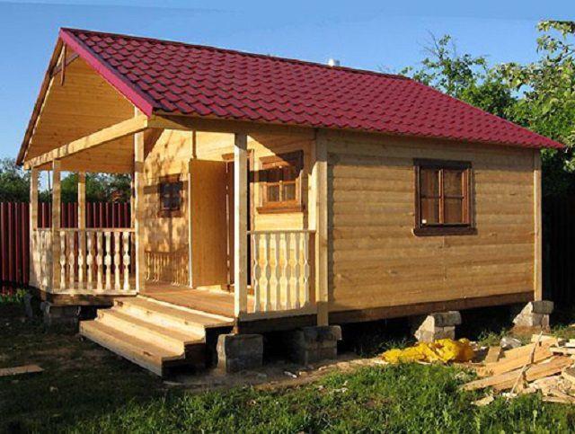 Для дачного дома оптимальный выбор - каркасная конструкция