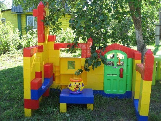 Доставьте удовольствие детям - оборудуйте игровую площадку