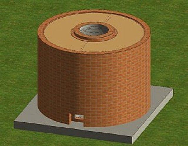 Пространство заполняется термосберегающим материалом