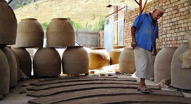 Формирование заготовок - глиняных лент