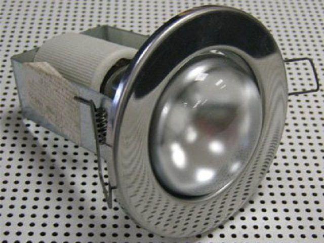 Врезной точечный светильник