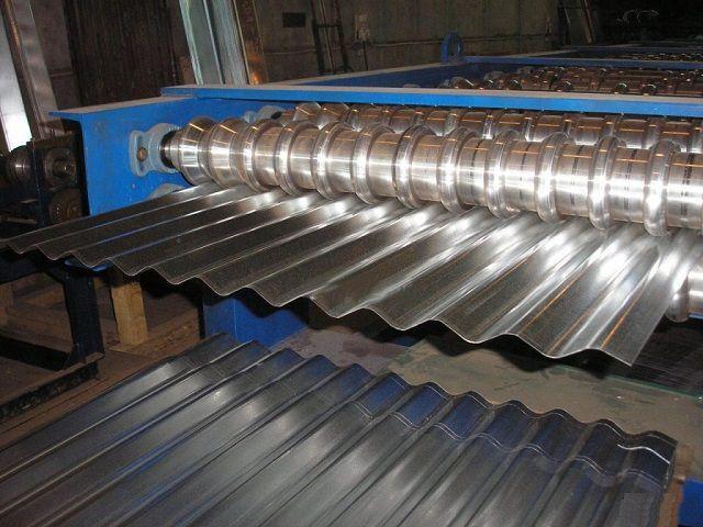 Производство металлического шифера