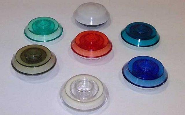 Термошайбы разного цвета