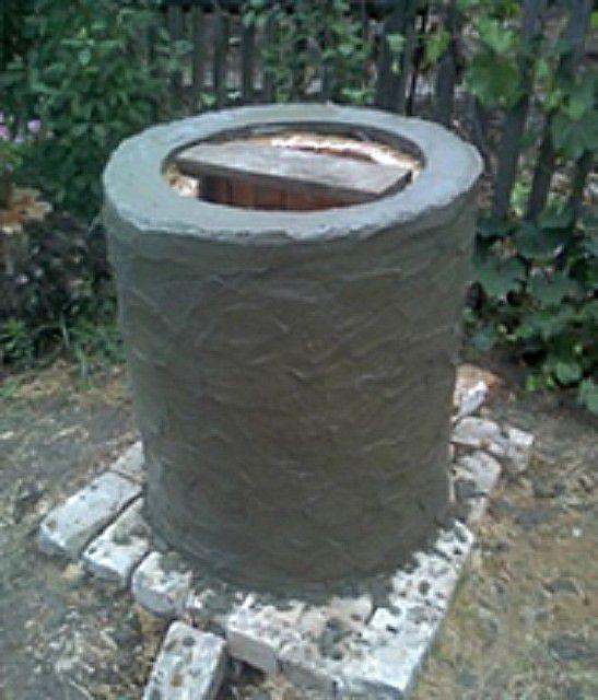 ... и после просыхания штукатурится цементным раствором.