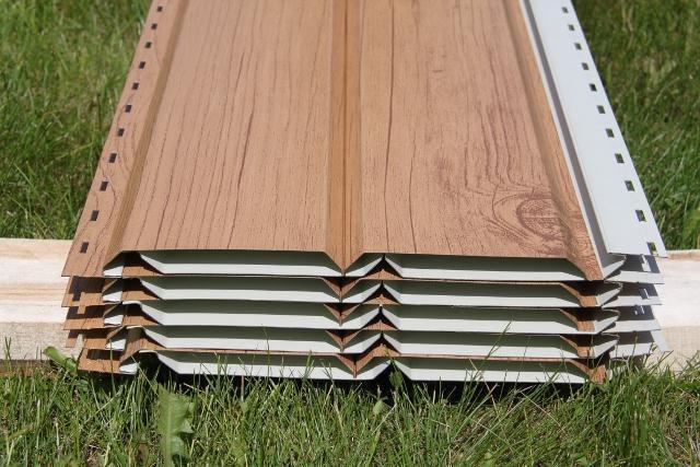 Упаковка металлических сайдинговых панелей