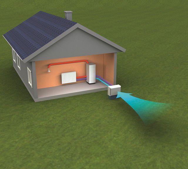 Научились применять и тепловую энергию воздуха