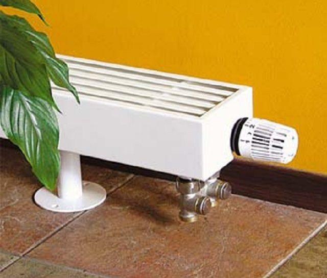 Напольный вариант конвектора с термостатом