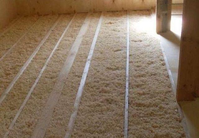 Пропорции глины и опилок для утепления потолка