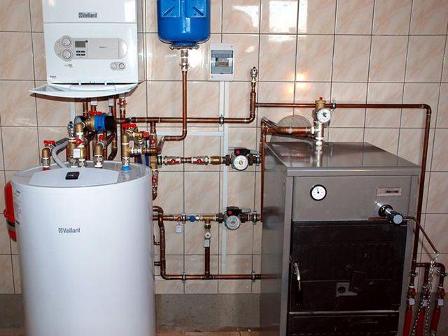 Водяное отопление своими руками в частном доме с насосом 61