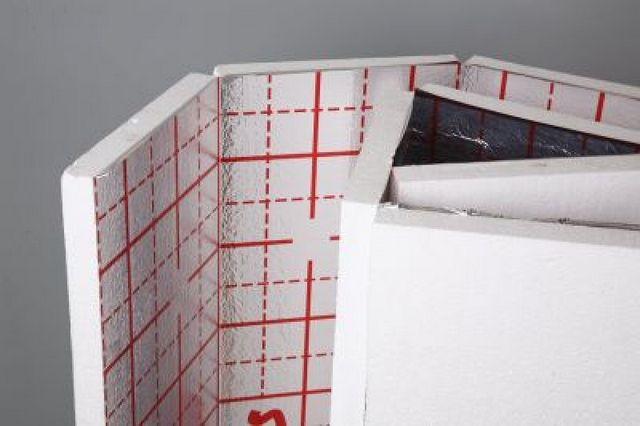 Пенополистирольный фольгированный мат для теплого пола